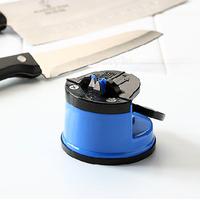 Derlook tungsten steel knife sharpener belt sucker tools suction cup knife sharpening stone blue and red