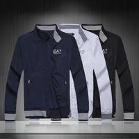 Free Shipping New Arrived Men's Casual jacket Slim Stylish fit zipper Coat Leisure Blazer Outwear Jackets