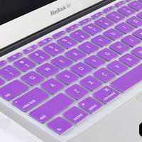 2PCS/LOT Silicone Laptop Keyboard Cover for Macbook Air 15 Dustproof Waterproof in Stock for Macbook Air Laptop Keyboard