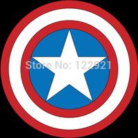 "High quality Marvel anime cartoon Bouclier Captain America Steven ""Steve"" Rogers casual fashion tee t-shirt dress camiseta"