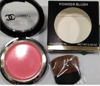 free shipping,  .blush balminess coral powder 9 belt blush brush skin color, 1pc