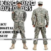 NEW BDU ACU Camouflage suit sets Military combat uniform CS training uniform sets jackets ans pants(12014)