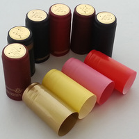 Pvc heat shrink cap wine sealing cover red wine bottle wine bottle cork wine cap 100