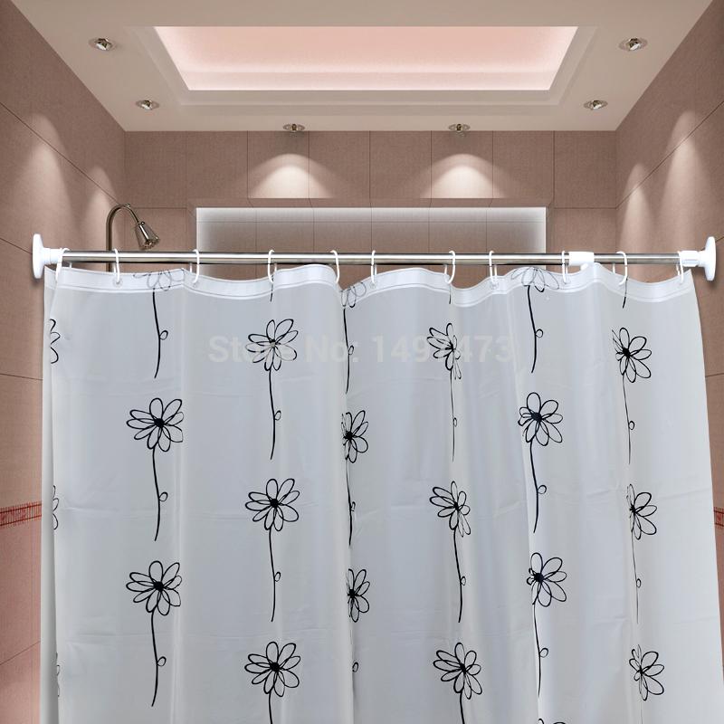 Witte Ladder Badkamer ~ Badkamer Gordijn  Kopen wholesale badkamer gordijn staaf uit china