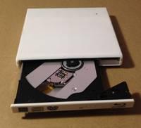 Slim White USB 3.0 External HL BT20N 3D 6X Blu-Ray Burner Writer BD-RE DVD Drive
