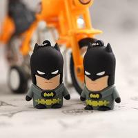 Wholesale New Cartoon U Disk Pen Drive Batman 4GB/8GB/16GB/32GB USB Flash Drive Memory Stick USB2.0