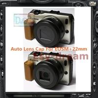 Self-retaining Auto Open Close Lens Cap Z-Cap X-Cap For Canon EOSM II EF-M 22mm F2 F/2.0 STM PA253