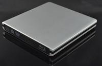 Slim silvery USB 3.0 External TD04V/F 3D 6X Blu-Ray Burner Writer BD-RE DVD Drive