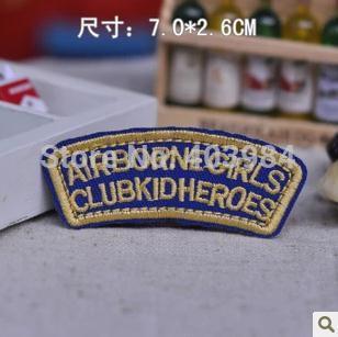 Заплатка для одежды Zzbl - shop 10pcs/Lot zzbl /83 zzbl - 83