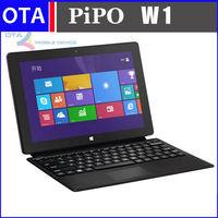 PIPO Work W1 Intel Quad Core Windows 8.1 tablet pc with keyboard case 10.1'' IPS 2GB 64GB Dual Camera BT WIFI HDMI OTG
