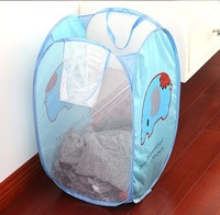 NEW 2014 HOT 3 COLOR Debris basket easily bear fitted clothing basket folding laundry basket Storage  basket FREE SHIPPING