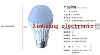 free shipping 3 w LED bulb ultra bright LED bulbs 5 w7w9w ball steep light E27 screw lamp light source