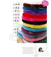 200pcs/lot Korean Hot wild candy-colored high elasticity domesticated hen hair band / hair rope / Hair Accessories Women jewelry
