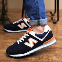 Free shipping sneakers men's fashion leisure running shoes women's shoe size36-44