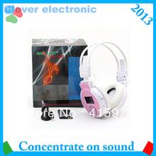 popular headphones pink and brown