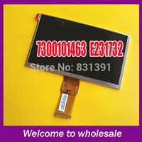 Original 7 inch LCD screen 7300101463 E231732 HD 1024 * 600 LCD screen for cube U25GT tablet PC