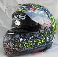 HJC CIRCUS Scream 88 Motorcycle Helmet Dual visor system urban full face helmet 2014 new design