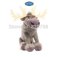 2014 New 21 cm Cartoon Movie Frozen Olaf Sven Plush Toys doll,  Kristoff Friend  Anna/sven/ Olaf Toys plush doll Free shipping