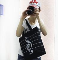 Handbags 2014 promotional price women handbag musical note pattern designer handbag hot selling hand bags for women