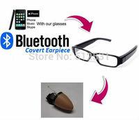 Glasses BlueTooth Covert Wireless Earpiece 205 Earphone Mini tiny Invisible Earbud gadget mini earpiece earphone