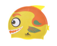YINGFA  Brandk    child  girl  boy Swim Cap Made of Silicone Material, Nontoxic and Non-allergenic  Free Shipping swimming caps