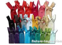 Invisible zipper/No3 40cm length/Material for sewing/Garment accessories/High intensity dress,pillow,cushion zipper/50pcs/lot