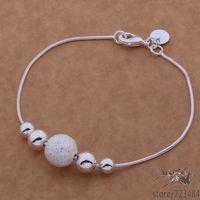 AH019 925 sterling silver bracelet, 925 sterling silver fashion jewelry  /fyraopya brdakika