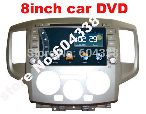 8 inch car DVD for Nissan NV200/Evalia/ NV200 Vanette/Chevrolet City Express/Mitsubishi Delica/Ashok Leyland Stile(China (Mainland))