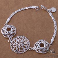 AH199 925 sterling silver bracelet, 925 sterling silver fashion jewelry  /gfpaowwa bybakpia