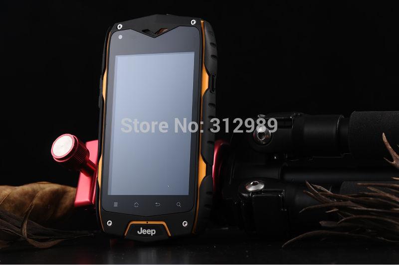 Мобильный телефон JPZ6 IP68 Z6 /mtk 6572 Android 4.2 GPS Wifi мобильный телефон jeep z6 z6 android 4 2 mtk 6572 5 0mp 0 3mp 3 g wcdma gps