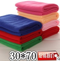 High quality microfiber towel, 30 * 70cm super absorbent towel dry hair, car travel beauty salons Fitness Camping Movement