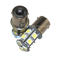 1156 BA15S 13SMD 5050 Car LED Turn Signal Light Aotomible Vehicle Brake Lamps Reverse Parking Bulbs DC 12V 24V