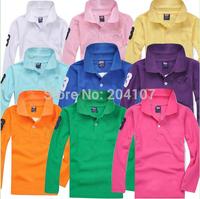 hot  summer kids shirt,children pure color long sleeve bottoming shirt,boys and girls 100%net cotton sport shirt Retail