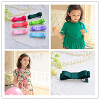 28pcs Children's fashion 2014 Tiny Baby Girl Infant Hair Bow clip hairpins accessories for hair baby party hair accessories p55