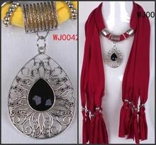 cheap pendant scarf necklace