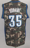 Free Shipping to all country!!#35 Kevin Durant Camouflage Special Edition jersey ,Embroidered Logo(all name number stitched!!)