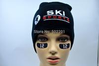 Beanie for men 3D embroidery USA ski hat women 100% acrylic gorros cap boy