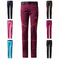 2014 New Women Outdoor Sports Casual Long Pants Quick Dry Elastic Trousers Cycling Travelling Jogging Camping Hiking Climbing