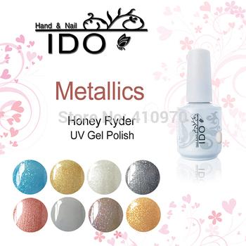 Уф гель IDO 15 мл / 0.5 жидких унций зеркал цветовых металлик ( выберите 1 цвет ) цвет выдерживает с геля для ногтей гель