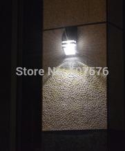 Free shipping  New  design  PIR Motionan  Solar Led Wall Lamps Outdoor Solar Led Lights   led light solar power kit