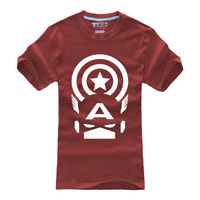 HOT High quality Personalized T-shirts Anime  Game Products The Avengers AceCool LOGO T-shirt Free Shipping