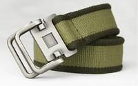 New 2014 Tactical Belt Mens Canvas Fashion Military Wide Belt for Men Canvas Cintos Masculinos Men's Ceinture