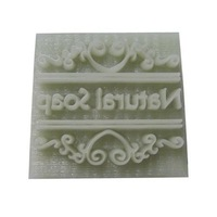 Natural Soap Letter  Soap StampResin Handmade Soap Stamp Resin Soap Stamp YEZ-00177