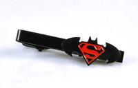 Batman Superman Superhero Marvel Men Wedding Party Tie Clip Clasp Fashion