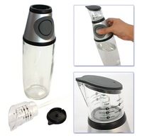 Hot sales Free shipping Measuring and press oil bottle