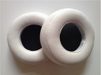White Replacement Earpads Ear Pads For Monster Beats By Dr.Dre PRO/DETOX