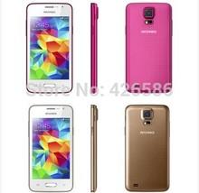 "2014 orignal 4.0"" Screen Mini S5 Android 4.3.3 MTK6572A mobile phone Dual SIM Dual Core 1.2MHZ CPU 4GB ROM 1Gb RAM 3G GPS WIFI(China (Mainland))"