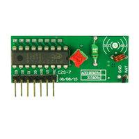 315,433Mhz super-regenerative receiver module ,4-channel ,wireless receiver module / receiver board sensitivity: -103dBm