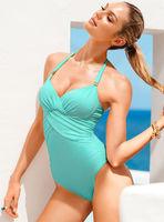 2014 new one piece swimwear black white red blue pink 3098 brand women swimsuit brazilian for bathing swim suit beach wear