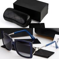 Free Shipping 2014 Hot women brand designer Polarized Sunglasses Square frame UV Sun glasses With original box 4259Y
